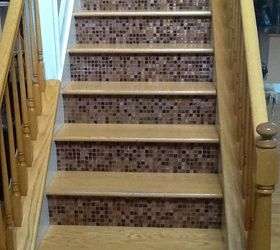 This Is Not A Question, Stairs, Tiling, Entry Way Steps Leading To The