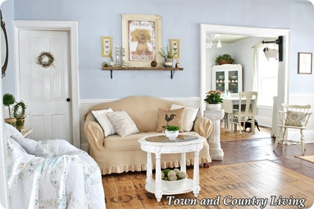 how to create farmhouse style, home decor, kitchen design, living room ideas, Slipcovers are used on furniture for casual easy living