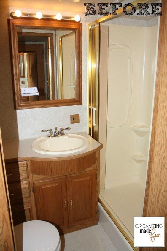 Rv Motorhome Bathroom Makeover Hometalk