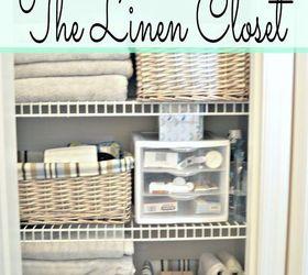 Linen Closet Organization And A Peek At My Closet Pharmacy, Closet, Home  Decor,