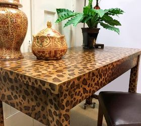 Superb How To Create A Fabulous Hand Painted Leopard Print Finish, How To, Painted  Furniture