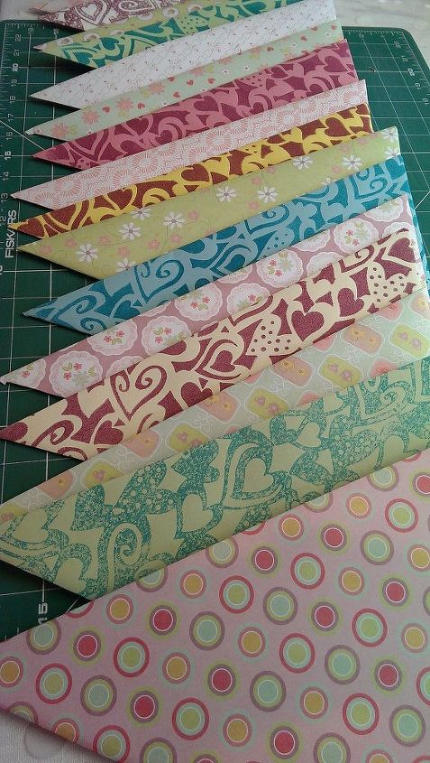 diy giant party decorations, crafts, giant party bunting