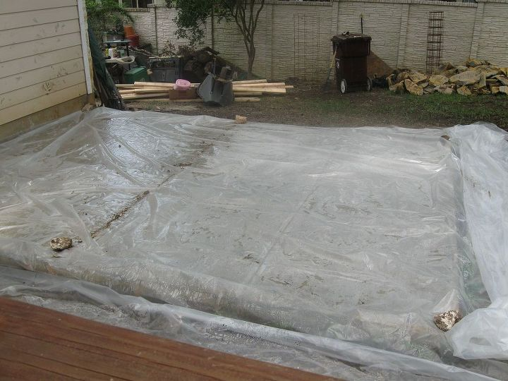 Curing the cement