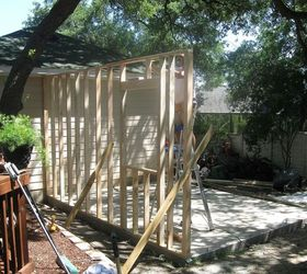 Building A Backyard Shed Shop, Concrete Masonry, Diy, Home Improvement,  Outdoor Living