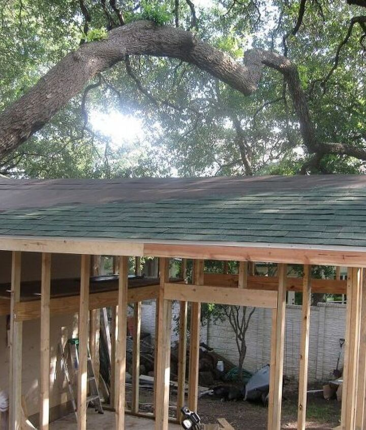 More roofing