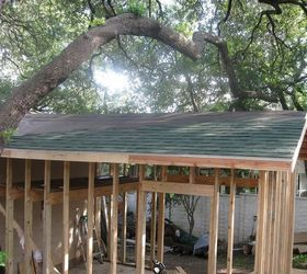 Gentil Building A Backyard Shed Shop, Concrete Masonry, Diy, Home Improvement,  Outdoor Living