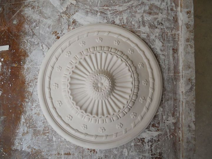 How to make this ceiling rose