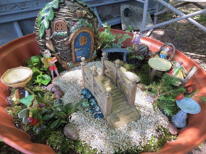 planting fairy gardens, crafts, gardening, outdoor living