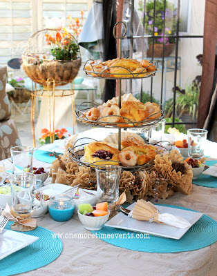 using coffee filter to decorate your table, home decor, repurposing upcycling, Coffee themed brunch using Coffee Filters