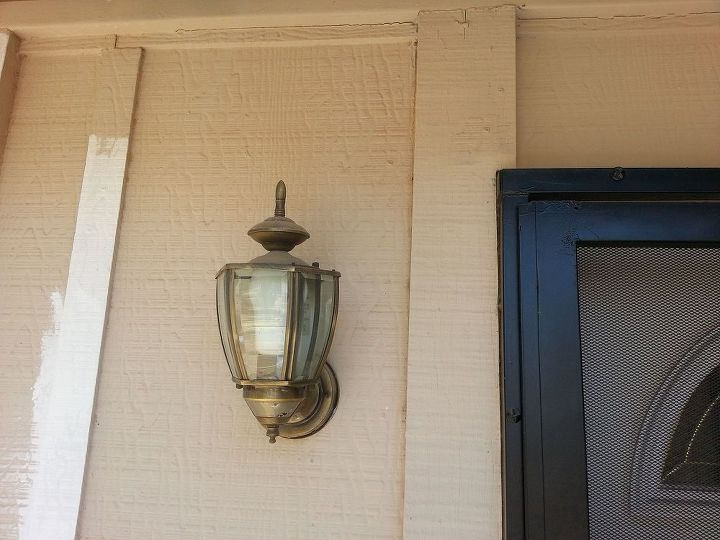 replacing exterior light fixtures, curb appeal, electrical, home maintenance repairs, how to, lighting, It s worse than it looks