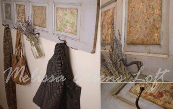 Coat Hanger: Re-purposing an Old Door