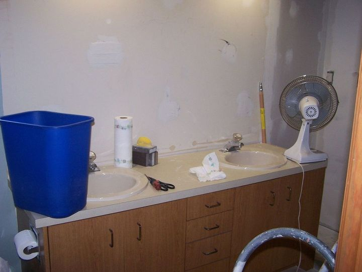 bathroom remodel, bathroom ideas, diy, home decor, old sinks Closet has been torn out