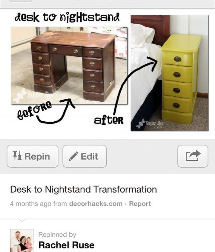 I keep dreaming of giving my two girls nightstands.