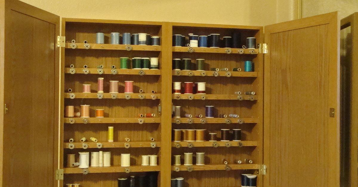 Sewing Thread Organizer And Storage Hometalk