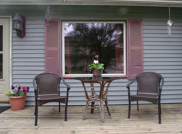 My front porch plants.