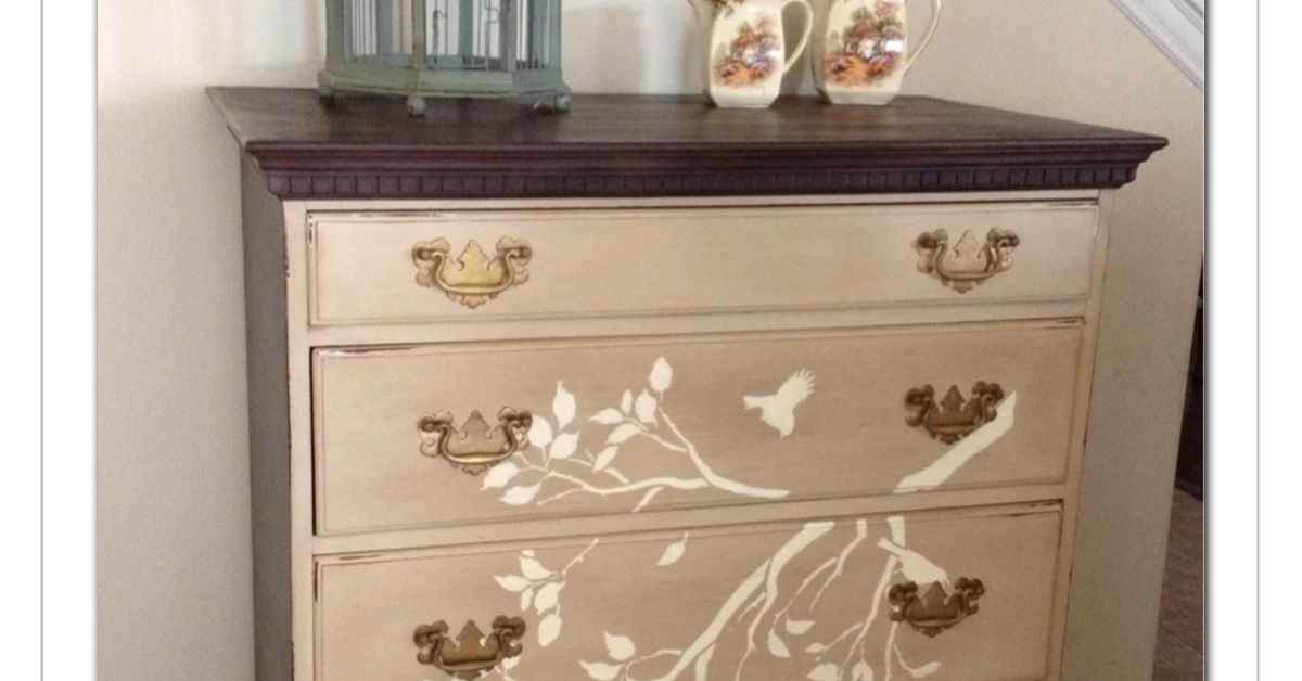 Antique Dresser Mirror Repurpose