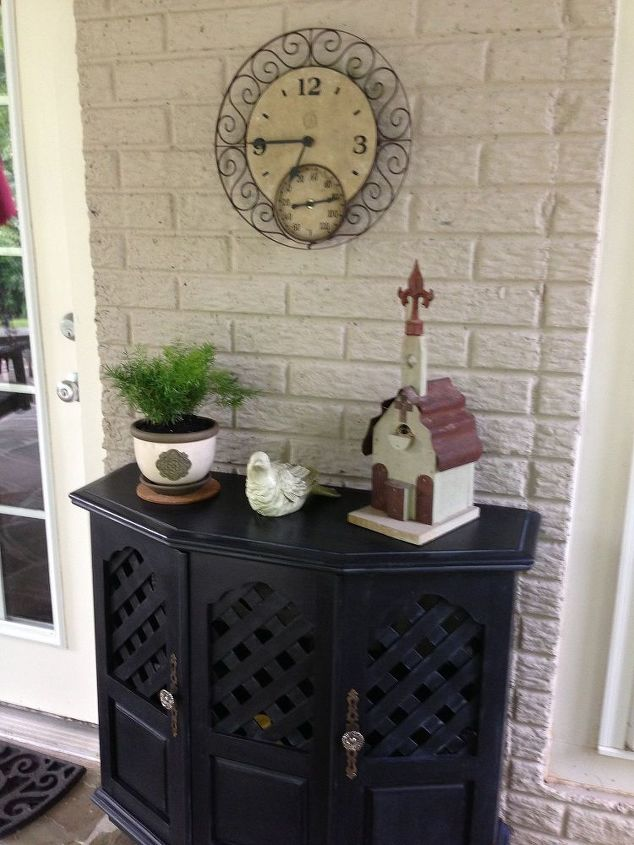 dilemma solved, chalk paint, outdoor furniture, outdoor living, painted furniture, shelving ideas