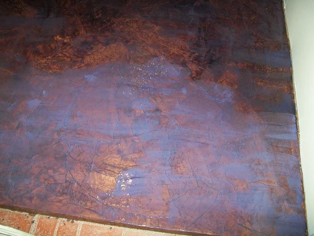 Installing A Paper Bag Floor Using Rit Dye Hometalk