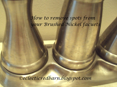 Spots on Your Brushed Nickel Faucets? | Hometalk