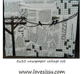 Diy Wall Art Tons Of Ideas, Crafts, Decoupage, Home Decor, Wall Decor