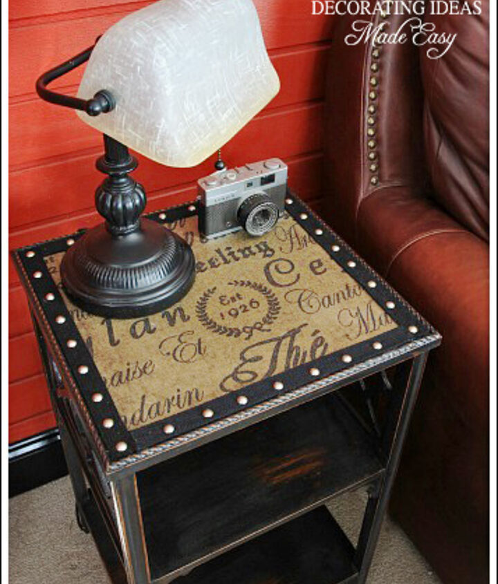 I love the industrial furniture style!