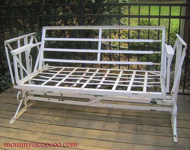 Top Outdoor Metal Glider Bench Designs Ct75