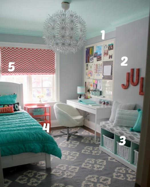 5 ways to get this look small but fun tween girl s room, bedroom ideas, home decor