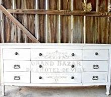 cream and gold french dresser tutorial paintjob, how to, painted furniture