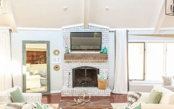 How to Mount a TV on a Brick Fireplace