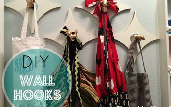 Organize Your Walls With Hooks Made Out of Scraps!
