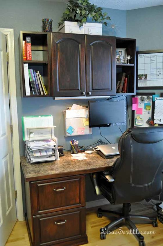 Staining Laminate Yes It Can Be Done Home Office Painting Cabinets