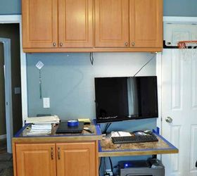 Bon Staining Laminate Yes It Can Be Done, Home Office, Painting Cabinets