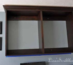 Staining Laminate Yes It Can Be Done, Home Office, Painting Cabinets