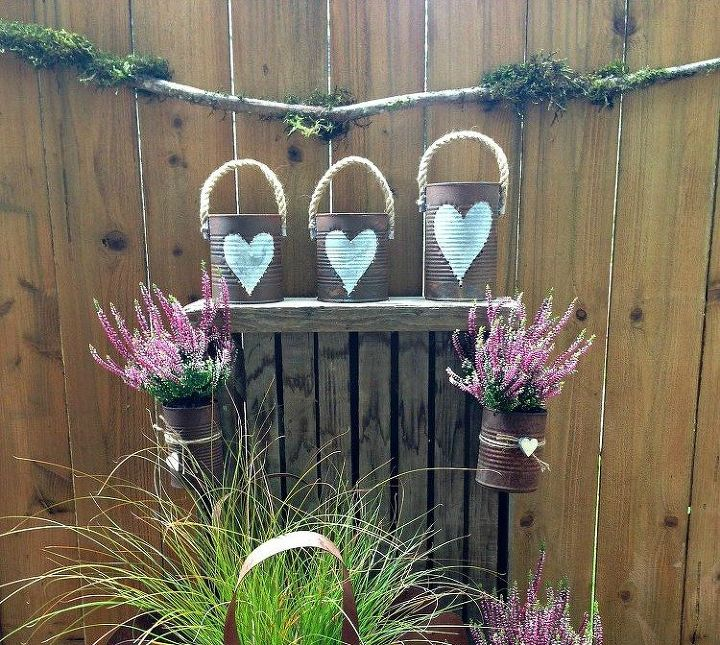 s 15 empty tin can hacks that will make your home look amazing, crafts, home decor, repurposing upcycling, Make a set of rusted lanterns