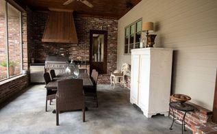 staining concrete and patio tour, concrete masonry, flooring, painting, patio