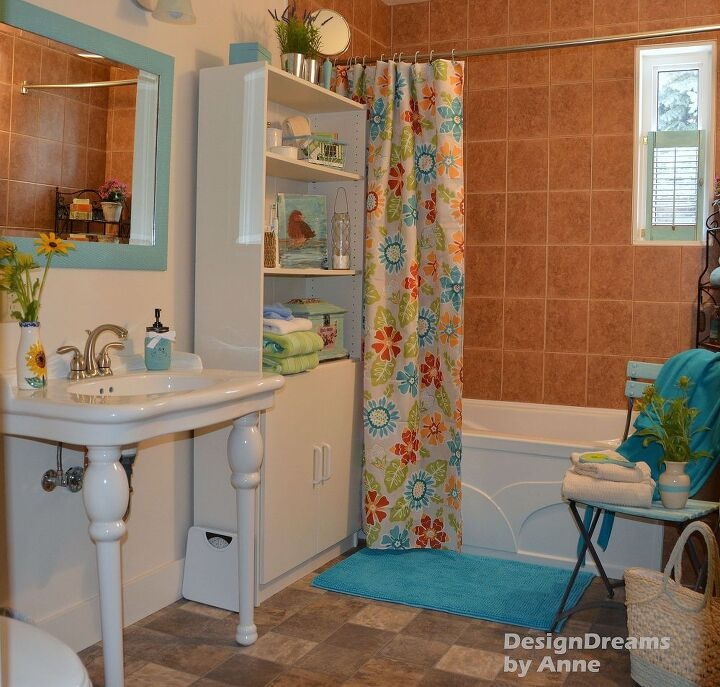 Tablecloth Shower Curtain Hometalk - Bathroom shower curtains and matching accessories for bathroom decor ideas
