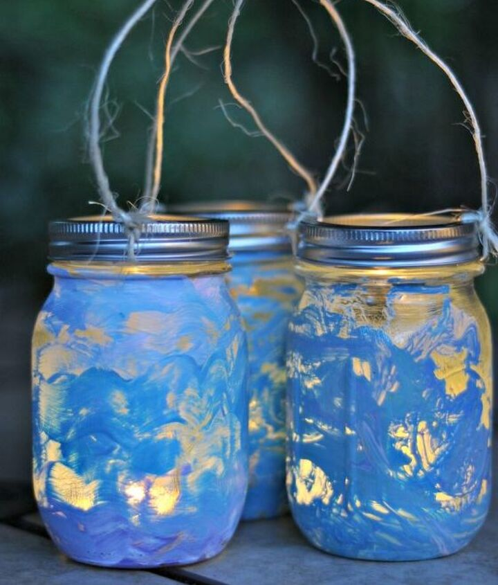 Mason Jar Lanterns Crafting With Kids Hometalk