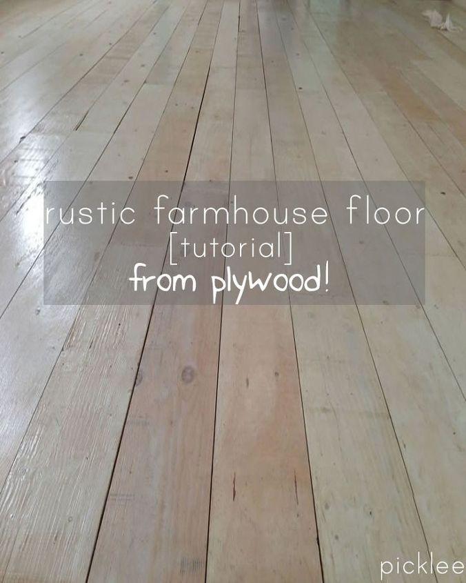 diy plywood floor, flooring, woodworking projects
