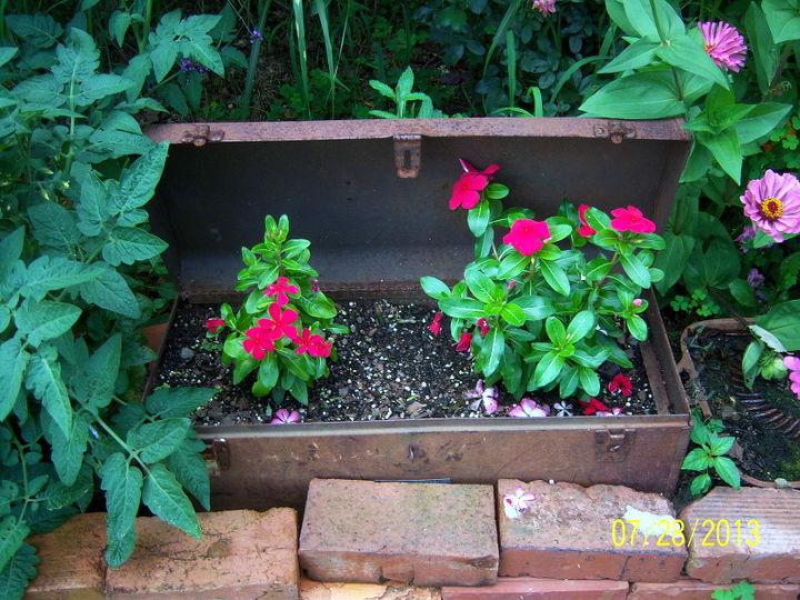 Rusted tool box