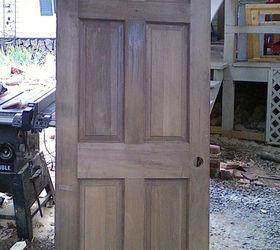 Build A Corner Bookcase Using A Door