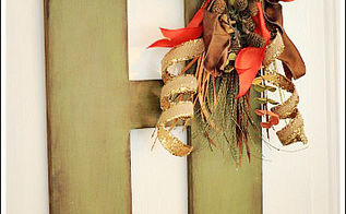 fall door decor, crafts, seasonal holiday decor, wreaths