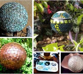 Attractive Design Wizards Garden Spheres Orbs And Gazing Balls, Crafts, Gardening,  Repurposing Upcycling,