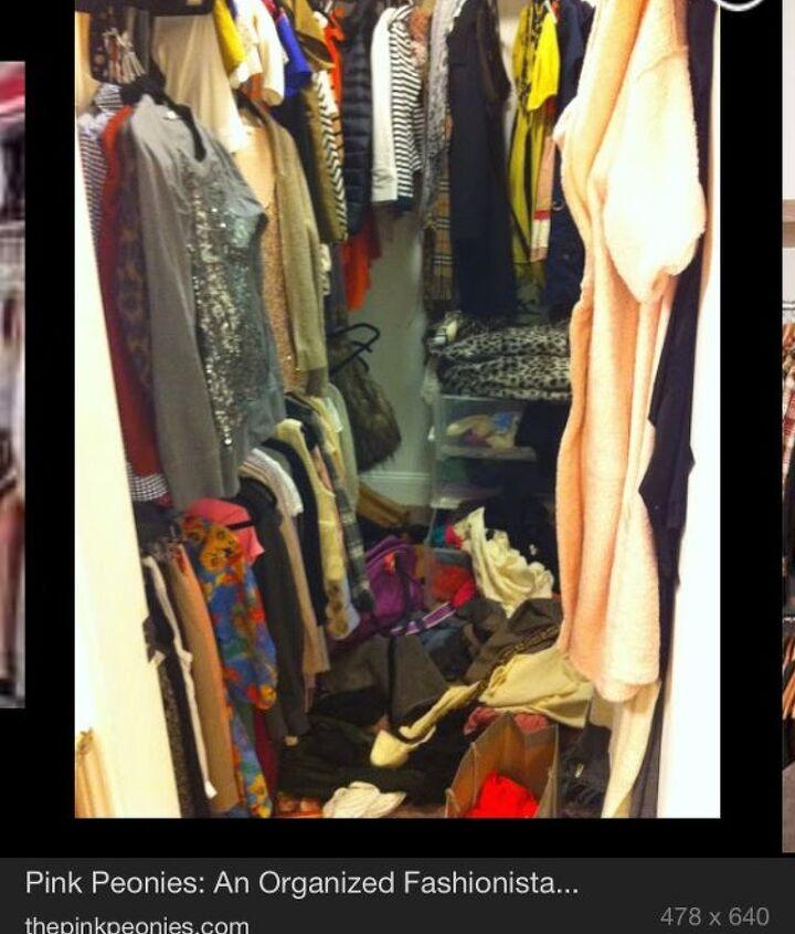 q walk in closet redo, cleaning tips, closet