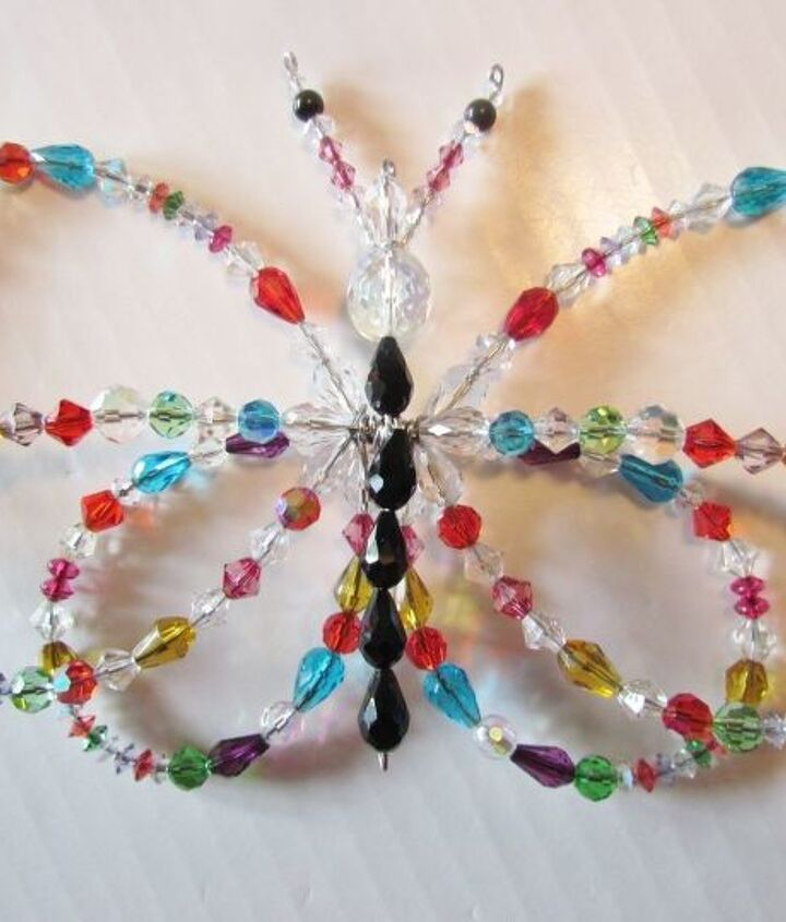 crystal garden sun catcher, crafts