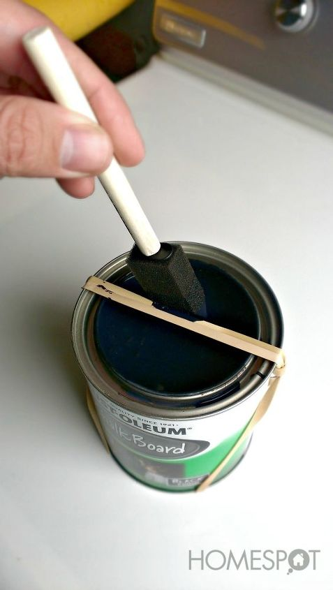 Keep the paint in the can!