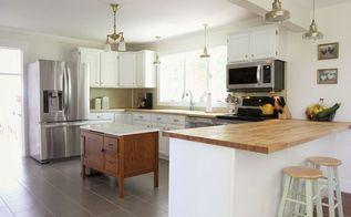 farmhouse kitchen reveal, home decor, kitchen design