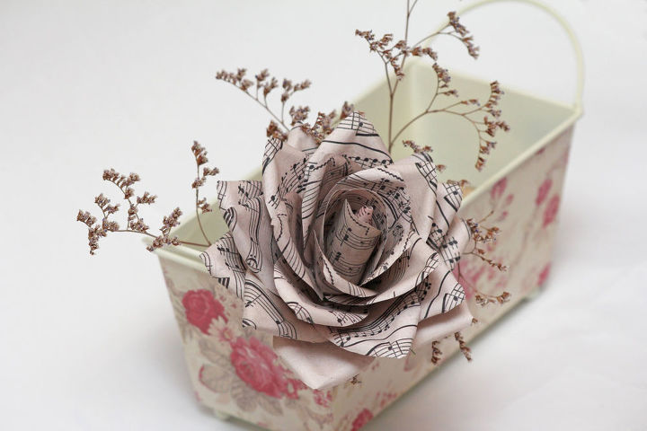 Paper Flower Frames Ornaments Diy Wednesday Crafts Decorate Your Home With Tiny Flowers