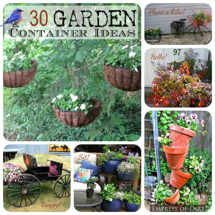 Creative Garden Ideas Fill thrill and spill 30 creative garden container ideas hometalk fill thrill and spill 30 creative garden container ideas container gardening gardening you workwithnaturefo