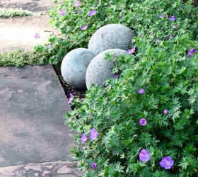 Charming Diy Concrete Garden Spheres, Concrete Masonry, Gardening