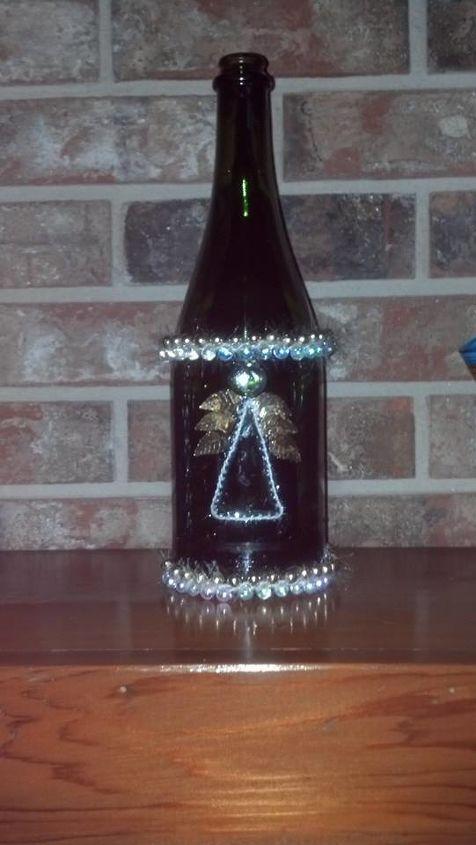 wine bottle tree bottles, crafts, repurposing upcycling